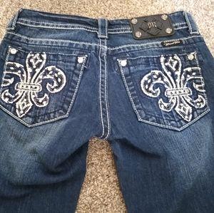 Miss Me Jeans  Size 26x27 Boot Cut JP5360B3